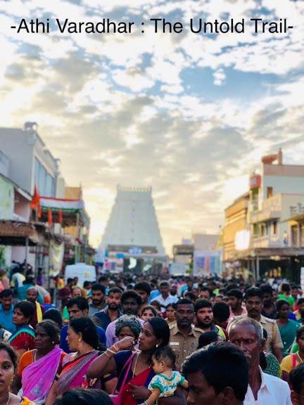 Athi varadar perumal darshan road trip to Vellore, Kanchipuram