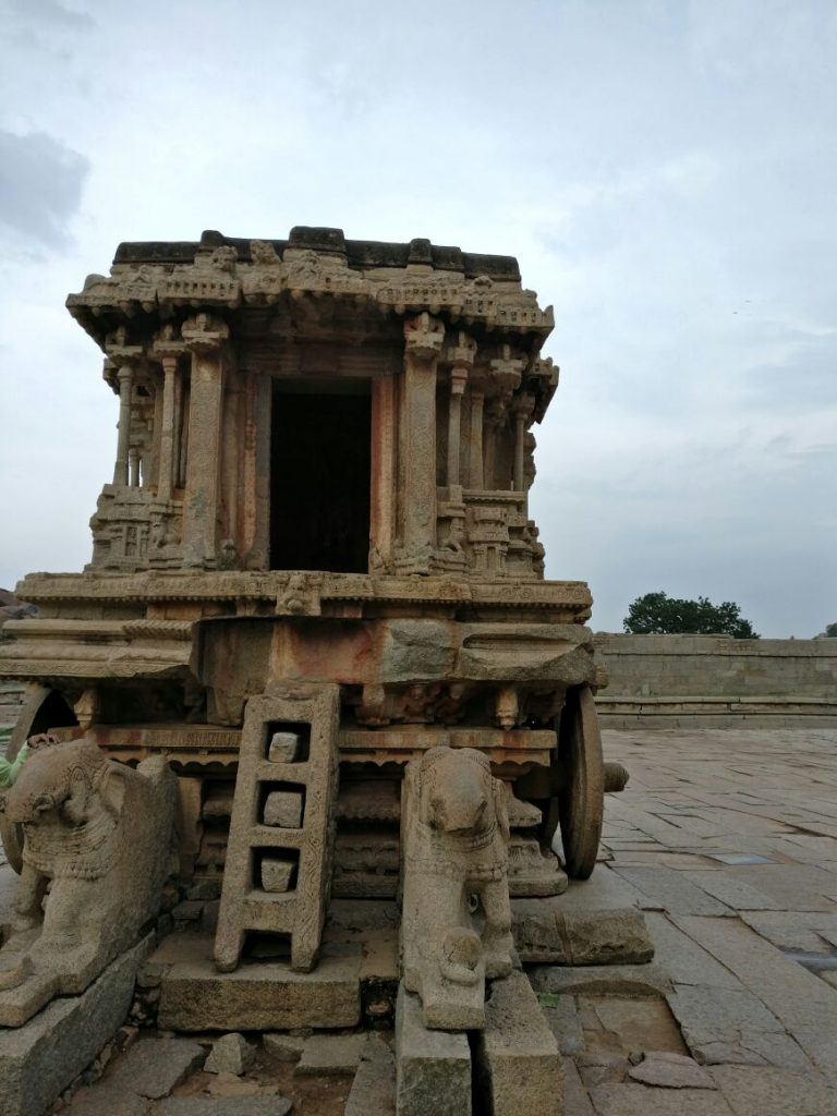 Hampi sightseeing places - Vittala temple