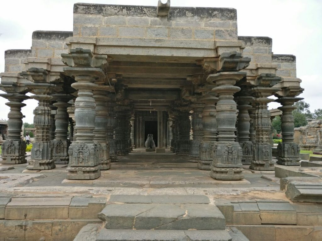Itagi Mahadeva temple under Archealogical survey of India. Hampi nearby sightseeing places, in our Hami trip from Bangalore
