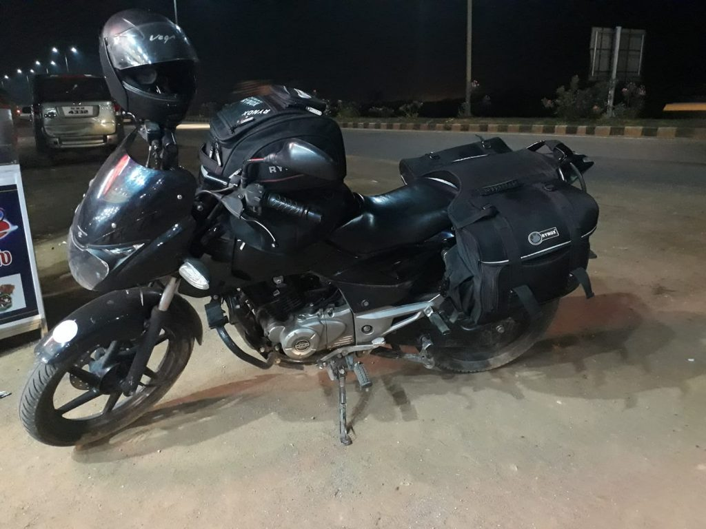 night ride from bangaolore to Tiruvannamalai temple