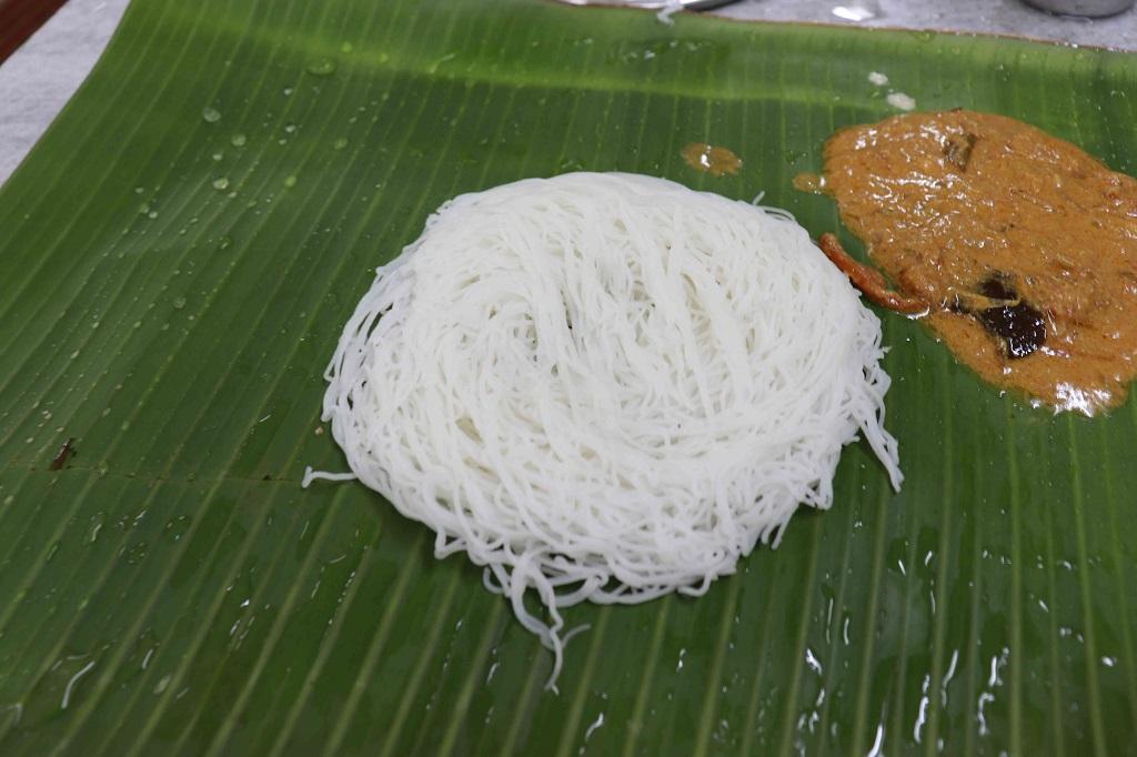 Idiyappam In Kumbakonam, Pandian Hotel