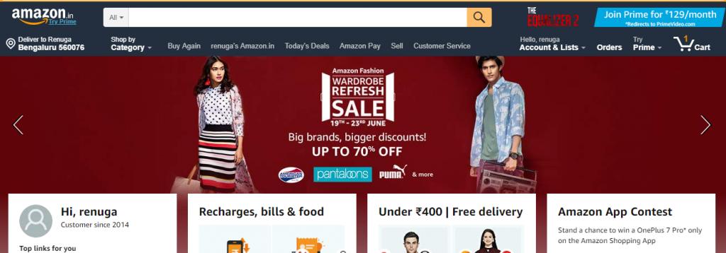 Trending deals in Amazon