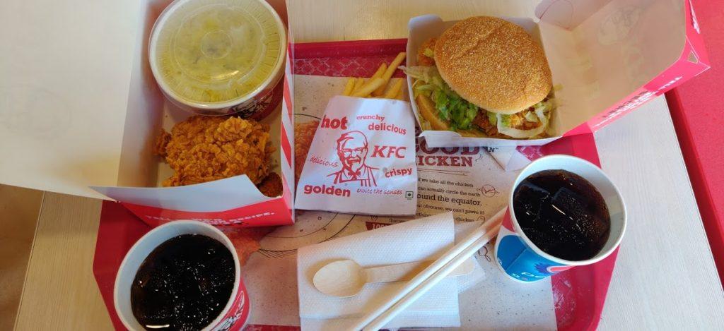 "KFC food joint Bannerughatta road"" width"