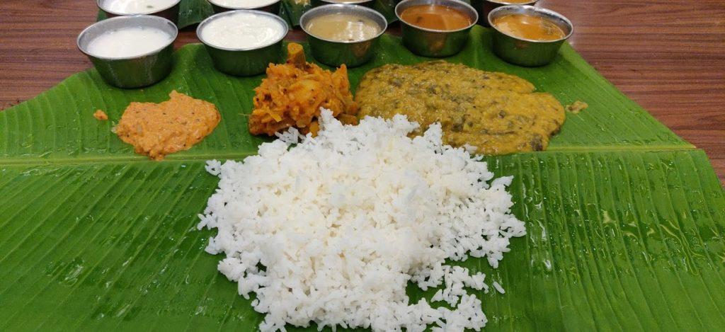 Andhra Meals in Nagarjuna Restaurant_travelduo images