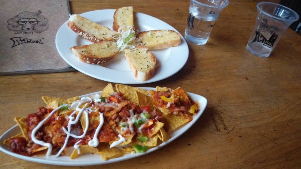 Rasta Cafe food menu list