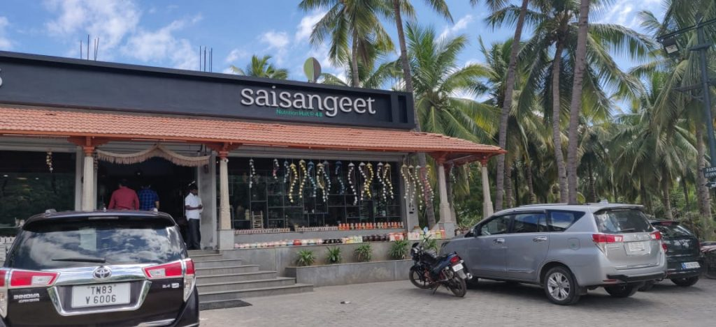 saisangeeth restaurant in Bangalore chennai highways