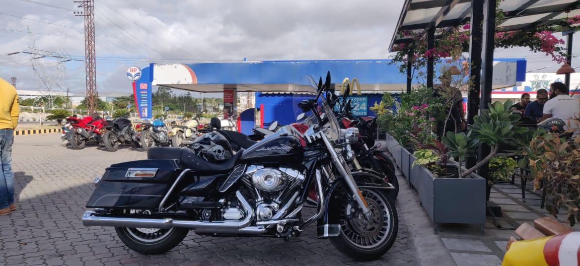 long motorbike trip in India