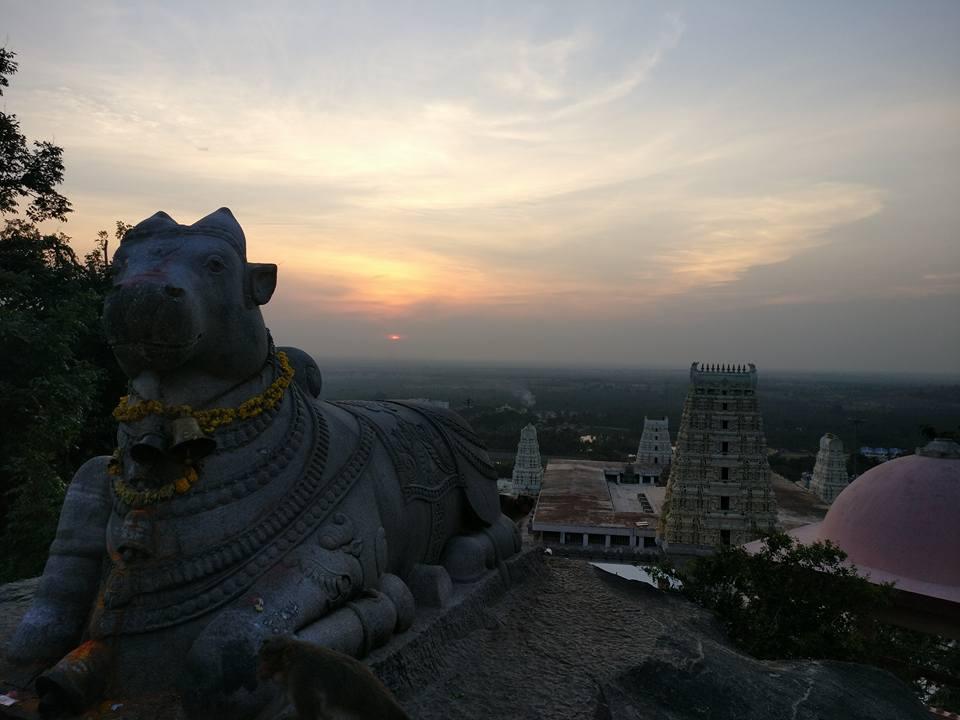 top of adichuchanagiri hills