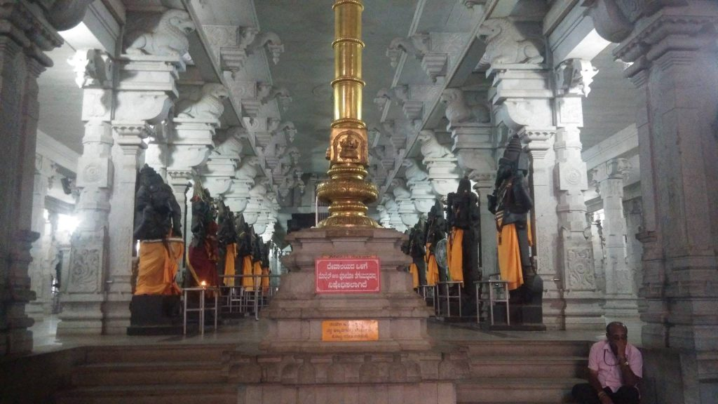 inside view of bairava temple in Adichuchanagiri hills