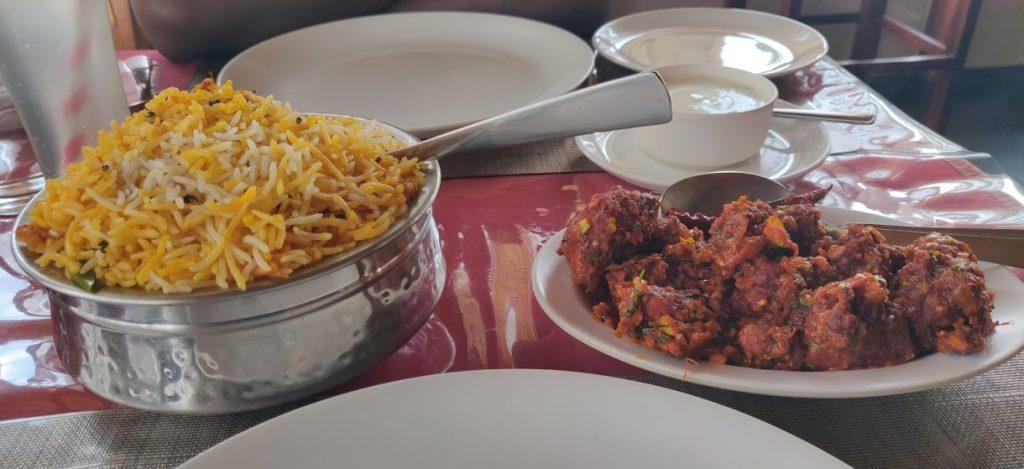 Best restaurant in Gonikoppal Coorg