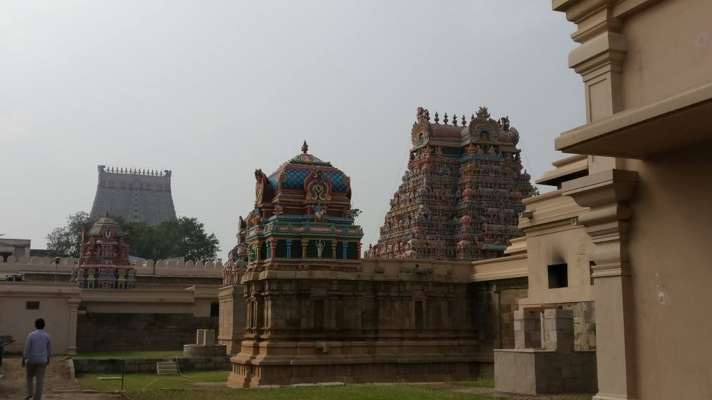Temple trip from bangalore to Trichy