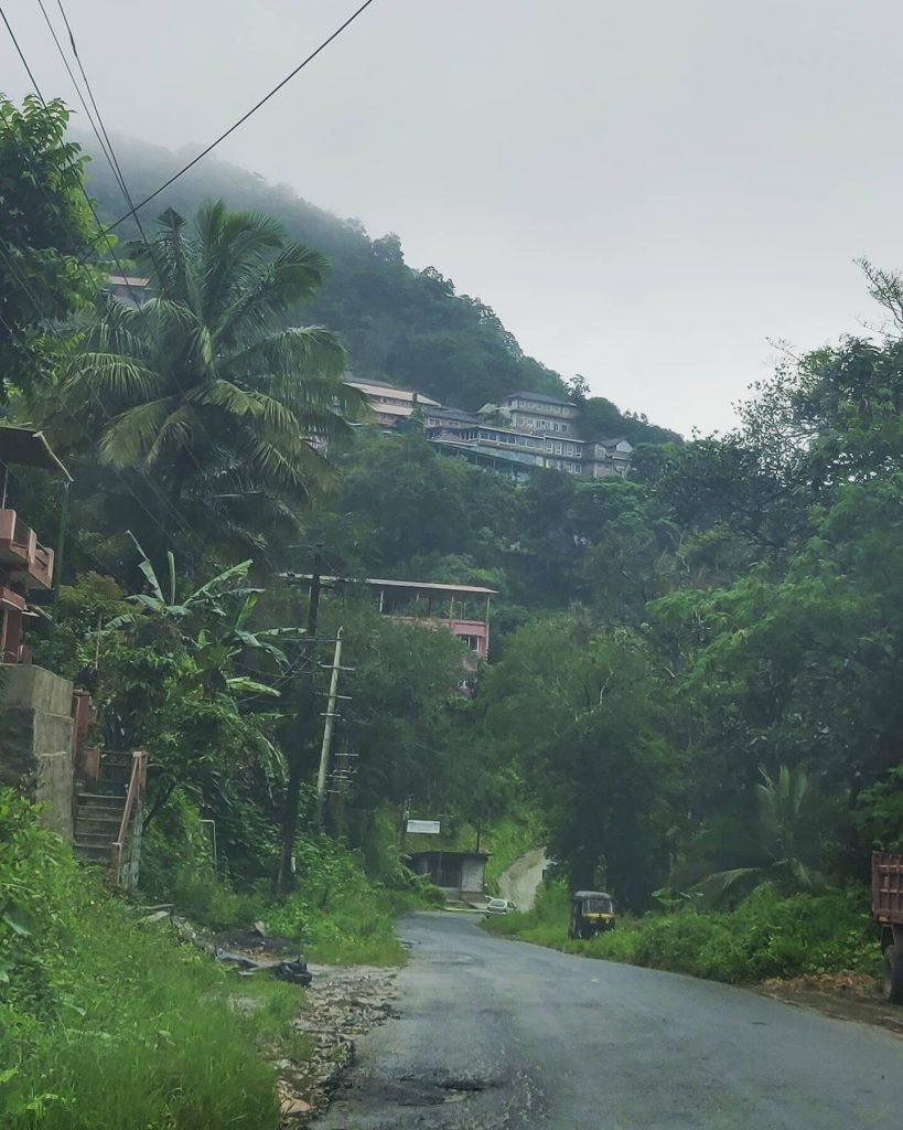 Drive to Cliffresorts near virajpet